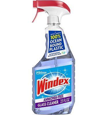 Purchase Windex Ammonia-Free Glass Cleaner Trigger Bottle, Crystal Rain, 23 Fl Oz at Amazon.com