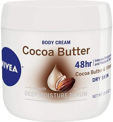 Purchase NIVEA Cocoa Butter Body Cream - 48 Hour Moisture For Dry Skin To Very Dry Skin - 15.5 oz. Jar at Amazon.com