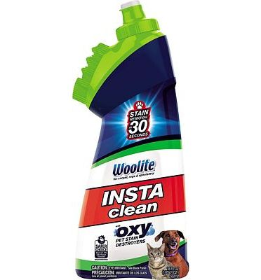 Purchase Bissell Woolite InstaClean Pet with Brush Head Cleaner, 1740 at Amazon.com
