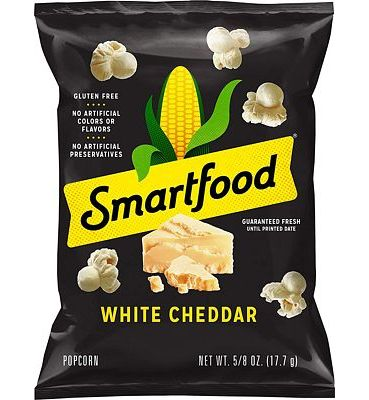 Purchase Smartfood White Cheddar Flavored Popcorn, 0.625 Ounce, 40 Count at Amazon.com