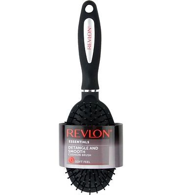 Purchase Revlon Detangle & Smooth Black Cushion Hair Brush at Amazon.com