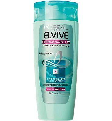 Purchase L'Oreal Paris Elvive Extraordinary Clay Rebalancing Shampoo, 12.6 fl. oz. at Amazon.com