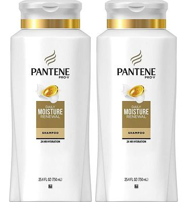 Purchase Pantene, Shampoo, Pro-V Daily Moisture Renewal for Dry Hair, 25.4 fl oz, Twin Pack at Amazon.com