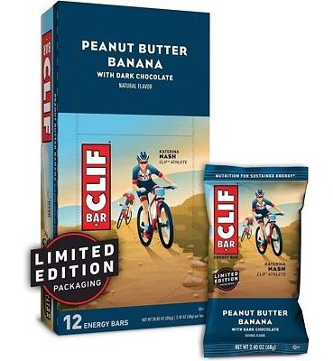 Purchase CLIF BAR - Energy Bars - Peanut Butter Banana Dark Chocolate - (2.4 Ounce Protein Bars, 12 Count) at Amazon.com