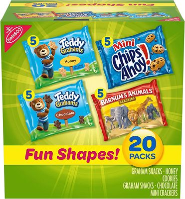 Purchase Nabisco Fun Shapes Cookie & Cracker Mix, Variety Pack at Amazon.com