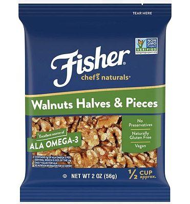 Purchase FISHER Chef's Naturals Walnut Halves & Pieces, No Preservatives, Non-GMO, 2 oz at Amazon.com