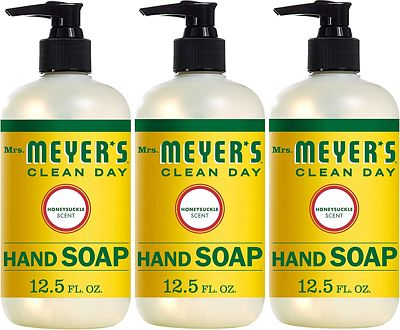 Purchase Mrs. Meyer's Clean Day Hand Soap, Honeysuckle, 12.5 fl oz, 3 ct at Amazon.com