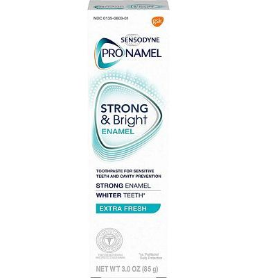 Purchase Sensodyne Pronamel Strong And Bright Enamel Toothpaste for Sensitive Teeth, Extra Fresh - 3 Ounces at Amazon.com