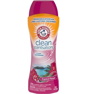 Purchase Arm & Hammer Clean Scentsations in-Wash Scent Booster - Tropical Paradise, 24 oz at Amazon.com