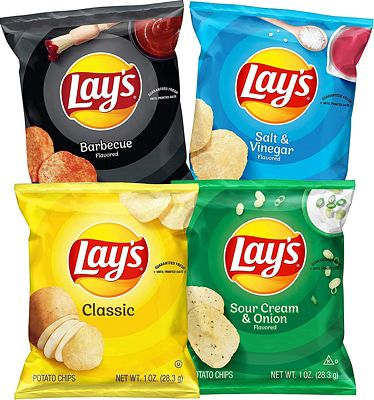 Purchase Lay's Potato Chip Variety Pack, 40 Count at Amazon.com