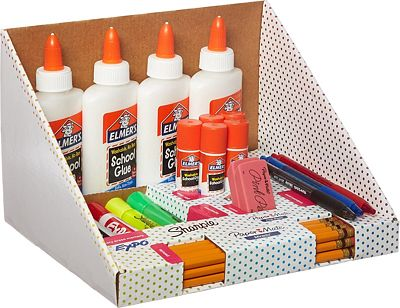 Purchase School Supply Kit: Sharpie Highlighters, Paper Mate Pens, EXPO Dry Erase, Elmers Glue & More, 31 Count at Amazon.com