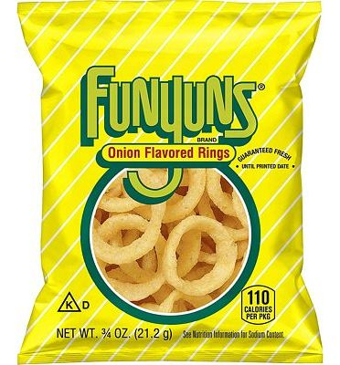 Purchase Funyuns Onion Flavored Rings, .75 Ounce (Pack of 40) at Amazon.com