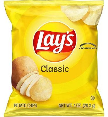 Purchase Lay's Classic Potato Chips, 1 oz (Pack of 40) at Amazon.com