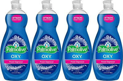 Purchase Palmolive Ultra Dish Soap Oxy Power Degreaser, 32.5 oz - 4 Pack at Amazon.com