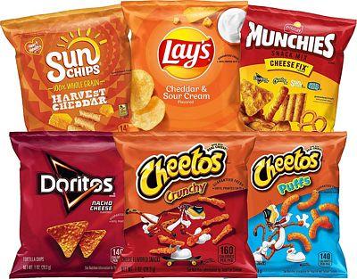 Purchase Frito-Lay Cheesy Mix Variety Pack, 40 Count at Amazon.com