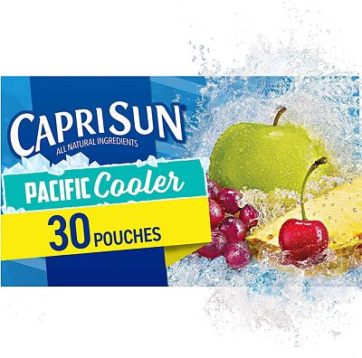 Purchase Capri Sun Pacific Cooler Juice Drink, 6 Fl Oz, Pack of 30 at Amazon.com
