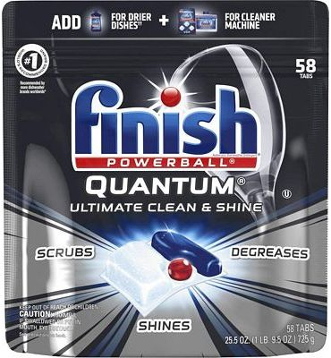Purchase Finish Quantum - 58ct - Dishwasher Detergent Tabs at Amazon.com