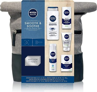 Purchase NIVEA Men Dapper Duffel Gift Set - 5 Piece Collection Of On-The-Go Grooming Needs with Travel Bag Included at Amazon.com