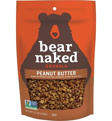 Purchase Bear Naked Peanut Butter Granola - Non-GMO, Kosher Dairy, Vegetarian Friendly - 12 Ounce at Amazon.com