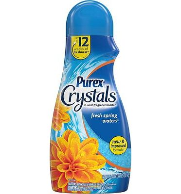 Purchase Purex Crystals in-Wash Fragrance and Scent Booster, Fresh Spring Waters, 39 Ounce at Amazon.com