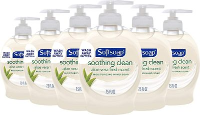 Purchase Softsoap Liquid Hand Soap, Aloe - 7.5 fluid ounce (Pack of 6) at Amazon.com