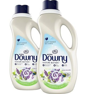 Purchase Downy Nature Blends Liquid Fabric Conditioner & Softener, Honey Lavender, 2 Count, 44 Ounces Each at Amazon.com
