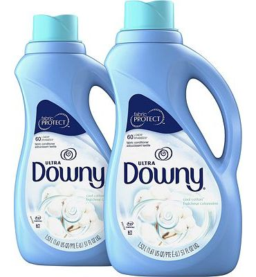 Purchase Downy Ultra Cool Cotton Liquid Fabric Conditioner, 51 fl oz (Pack of 2) at Amazon.com