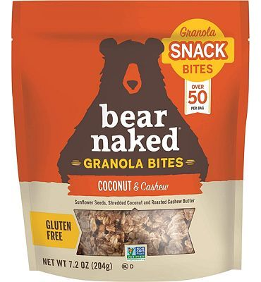 Purchase Bear Naked Coconut Cashew Granola Bites - Gluten Free, Non-GMO, Kosher, Vegan - 7.2 Ounce (Pack of 6) at Amazon.com