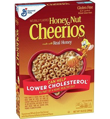 Purchase Honey Nut Cheerios, Gluten Free, Cereal with Oats, 10.8 oz at Amazon.com