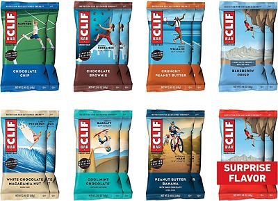 Purchase CLIF BAR - Energy Bars - Variety Pack - (2.4 Ounce Protein Bars, 16 Count) at Amazon.com