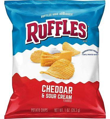 Purchase Ruffles Potato Chips, Cheddar Sour Cream, 1oz (40 Count) at Amazon.com