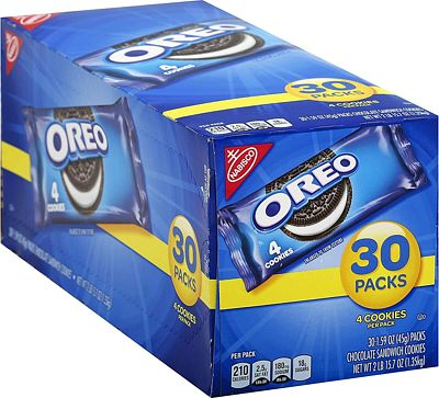 Purchase OREO Chocolate Sandwich Cookies, 30 - 1.59 oz Snack Packs at Amazon.com