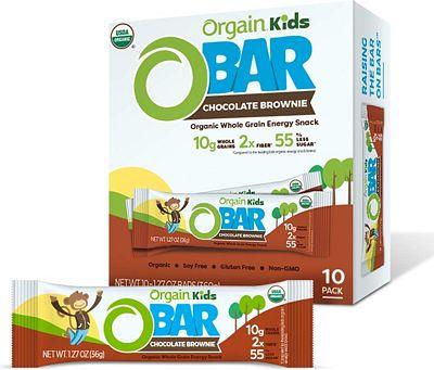 Purchase Orgain Organic Kids Energy Bar, Chocolate Brownie - Great for Snacks, Vegan, 7g Dietary Fiber, Dairy Free, Gluten Free, Lactose Free, Soy Free, Kosher at Amazon.com
