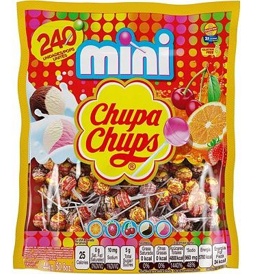 Purchase Chupa Chups Mini Lollipops 240ct Bag, Party Size, 50.8 Ounce at Amazon.com