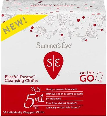 Purchase Summer's Eve Blissful Escape Personal Cloths - 16ea, 16 Count at Amazon.com