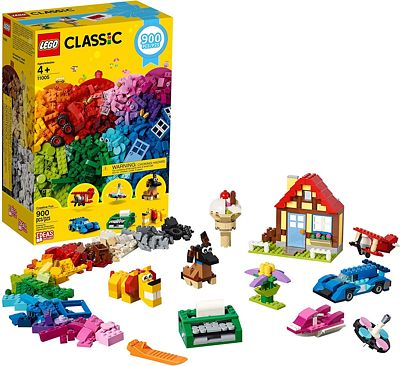 Purchase LEGO Classic Creative Fun 11005 Building Kit, New 2020 (900 Pieces) at Amazon.com