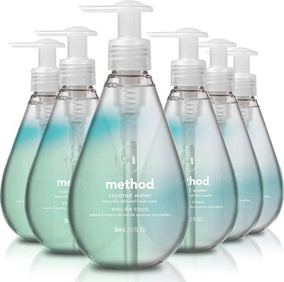 Purchase Method Gel Hand Wash, Coconut Water, 12 Fl. Oz (Pack of 6) at Amazon.com