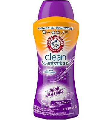 Purchase Arm & Hammer Clean Scentsations In-Wash Freshness Booster, Odor Blaster, 37.8 Ounce at Amazon.com