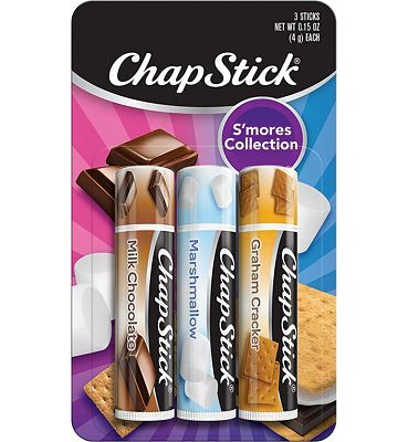 Purchase ChapStick S'mores Collection 3- 0.15 oz. Sticks at Amazon.com