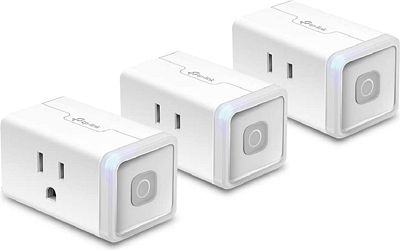Purchase 3-Pack Kasa Smart Wi-Fi Plug by TP-Link at Amazon.com
