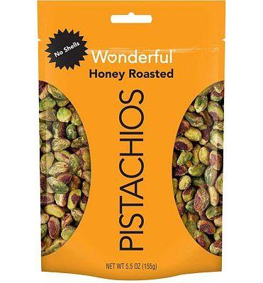 Purchase Wonderful Pistachios, No Shells, Honey Roasted, 5.5oz at Amazon.com