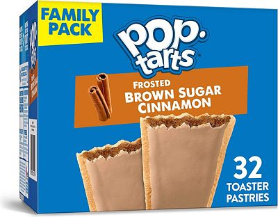 Purchase Kellogg's Pop-Tarts Frosted Brown Sugar Cinnamon - Toaster Pastries Breakfast for Kids, Family Pack (2 Count of 27 oz Boxes), 54.1 oz at Amazon.com