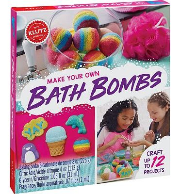 Purchase Klutz Make Your Own Bath Bombs Craft & Activity Kit at Amazon.com