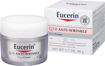 Purchase Eucerin Q10 Anti-Wrinkle Face Cream - Fragrance Free, Moisturizes for Softer Smoother Skin - 1.7 oz. Jar at Amazon.com