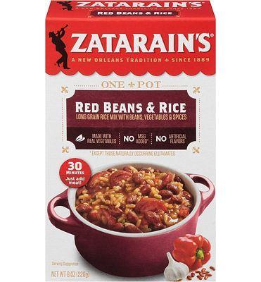 Purchase Zatarain's Red Beans and Rice, Original, 8oz at Amazon.com