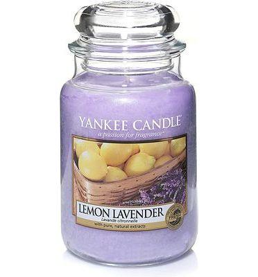 Purchase Yankee Candle Large Jar Candle Lemon Lavender at Amazon.com