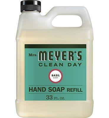 Purchase Mrs. Meyer's - Liquid Hand Soap Refill, Basil - 33 Ounce at Amazon.com