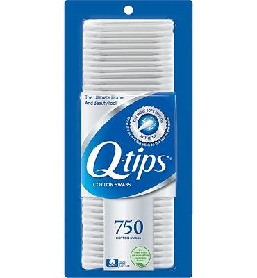 Purchase Q-tips Cotton Swabs, 750 ct at Amazon.com