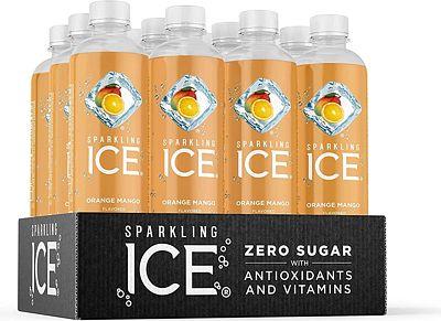 Purchase Sparkling Ice, Orange Mango Sparkling Water, with Antioxidants and Vitamins, Zero Sugar, 17 fl oz Bottles (Pack of 12) at Amazon.com
