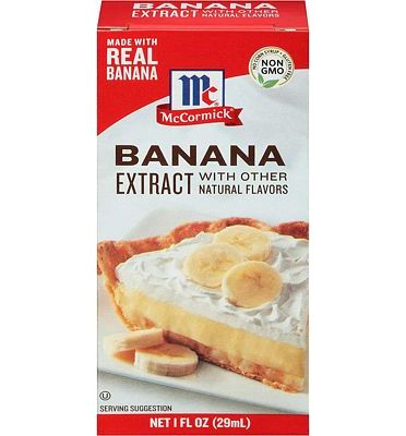 Purchase McCormick Banana Extract, 1 fl oz at Amazon.com